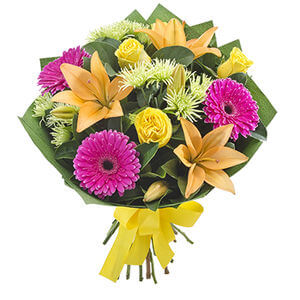 Bright  mixed flower bouquet