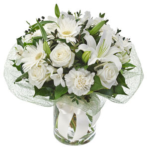 white flower bouquet blooms of yarrawonga