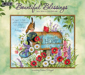 Bountiful Blessings Susan Winget 2021 Wall Lang Calendar With Scripture