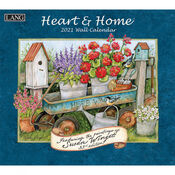 Heart and Home Susan Winget 2021 Lang Wall Calendar