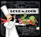 Love To Cook Lori Lynn Simms 2021 Lang Wall Calendar