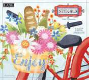 Stitched by Paula Joerling 2021 Lang Wall Calendar